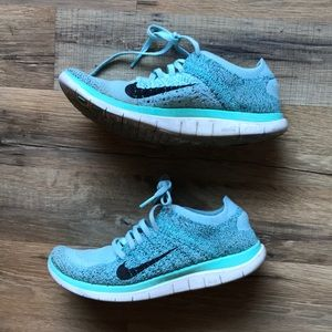 COPY - Nike Free 4.0 Flyknit Women's Shoes Glacie…
